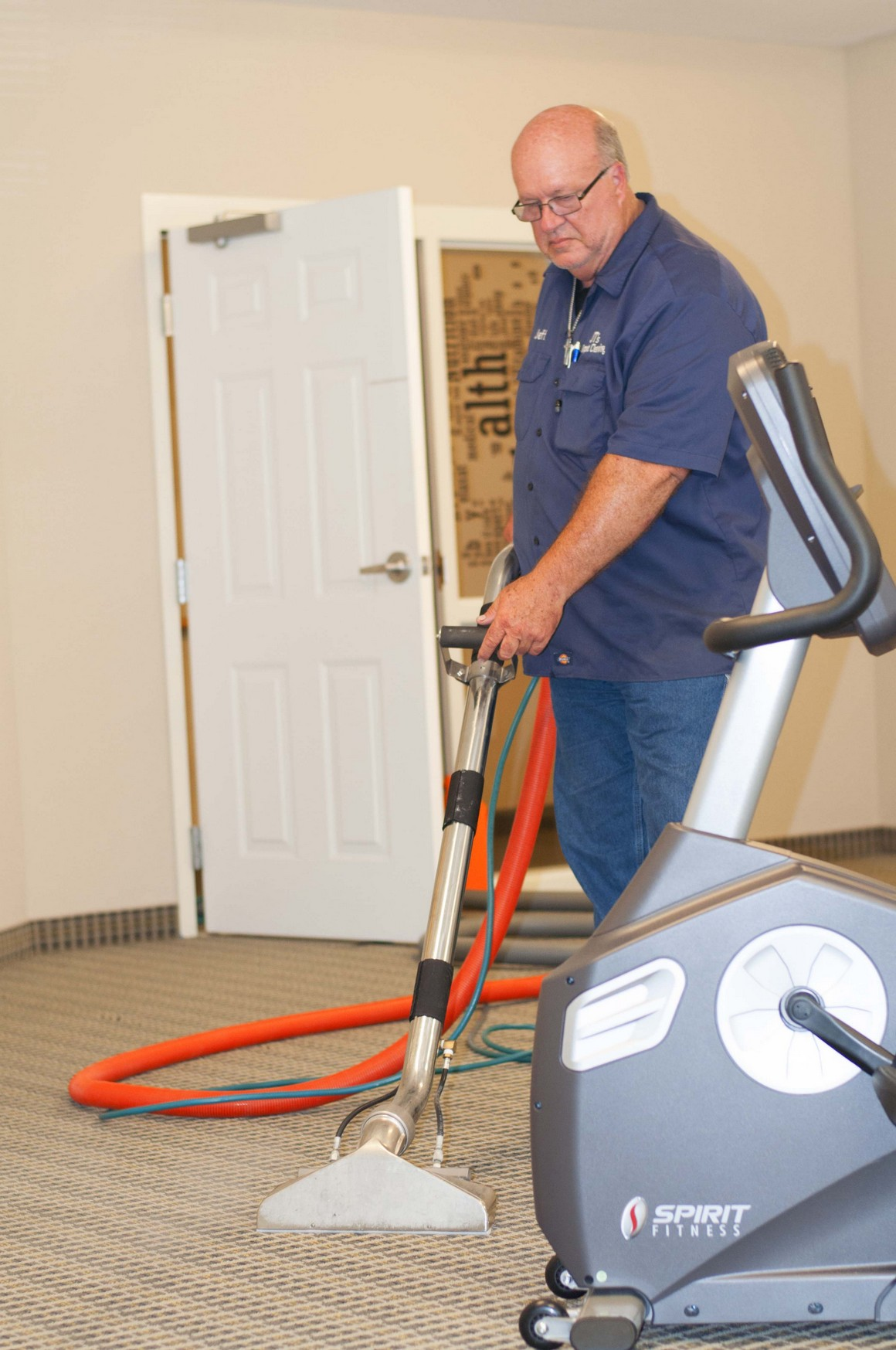 Jeff Fitness Room Cleaning